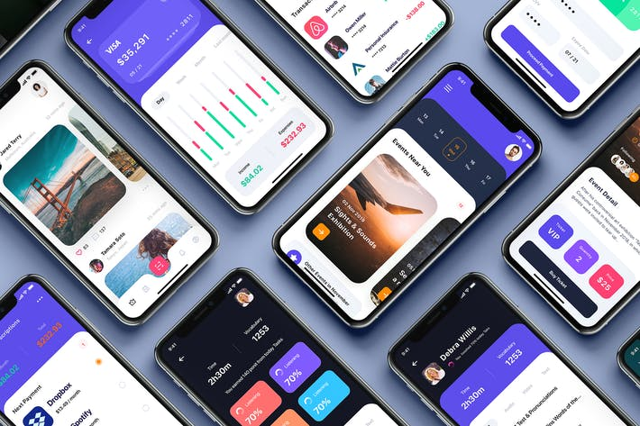 Thumbnail for Neon - Multipurpose Card-based UI Kit