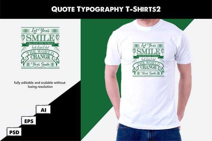 Thumbnail for Quote Typography T-Shirt2