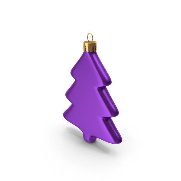 Cover Image for Tree Ornament Purple