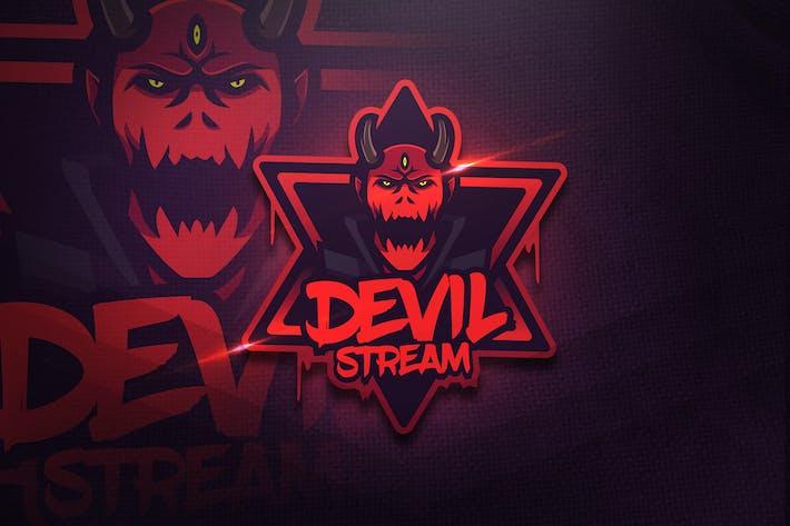 Thumbnail for Devil Stream - Mascot & Esport Logo