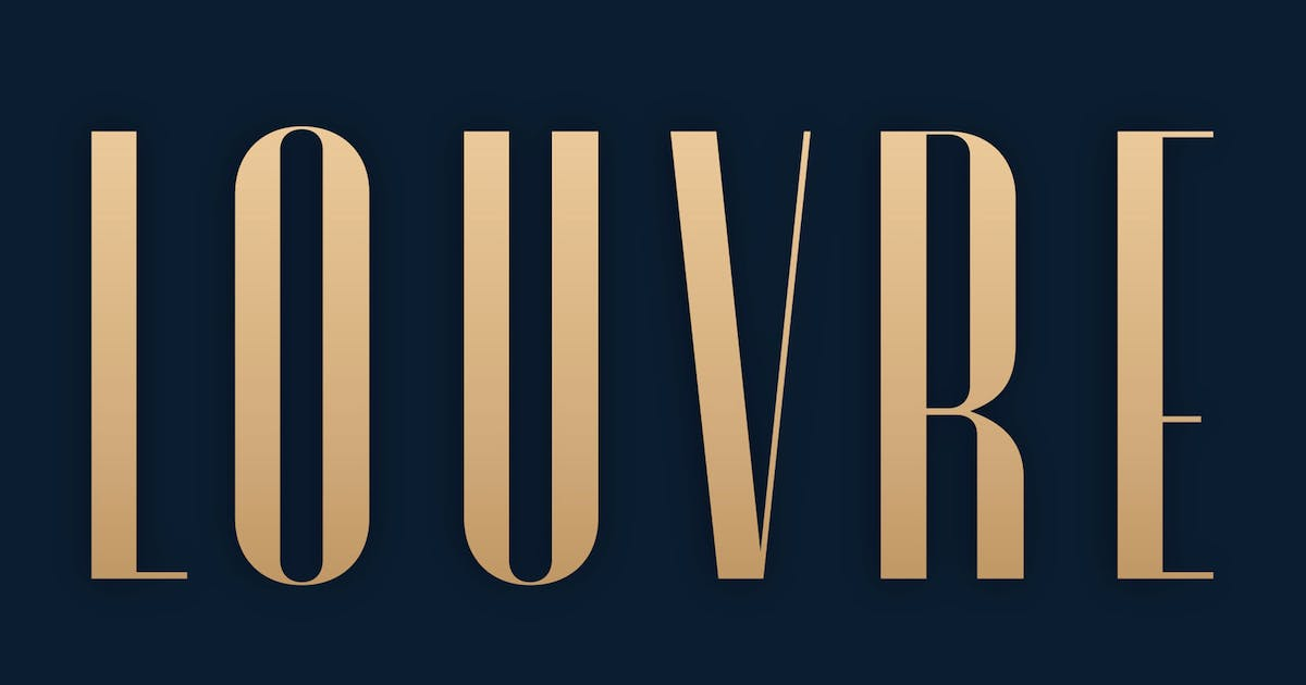 Download Louvre by nurrontype