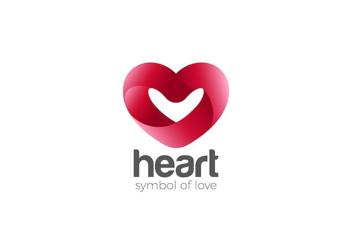 Thumbnail for Logo Heart symbol of Love