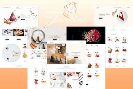 Tartine - Cake & Bakery Responsive Shopify Theme
