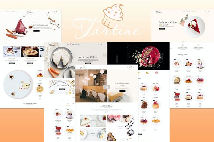 Thumbnail for Tartine - Cake & Bakery Responsive Shopify Theme