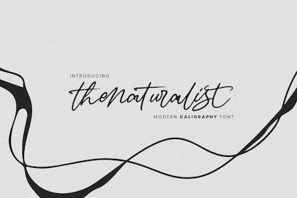 Thenaturalist Caligraphy - Fuente de boda