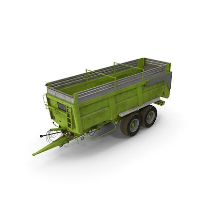Agricultural Body Trailer Dirty