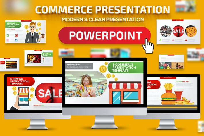Thumbnail for E-Commerce Powerpoint Presentation