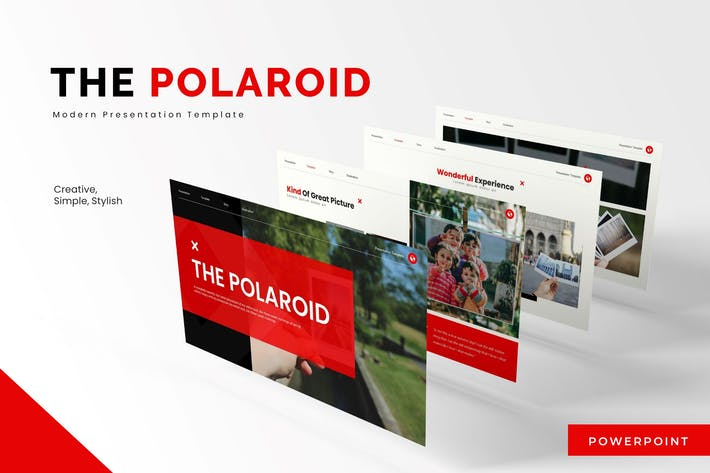Thumbnail for The Polaroid - Powerpoint Template