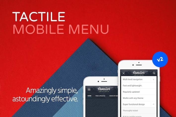 Thumbnail for Tactile: WordPress Mobile Menu
