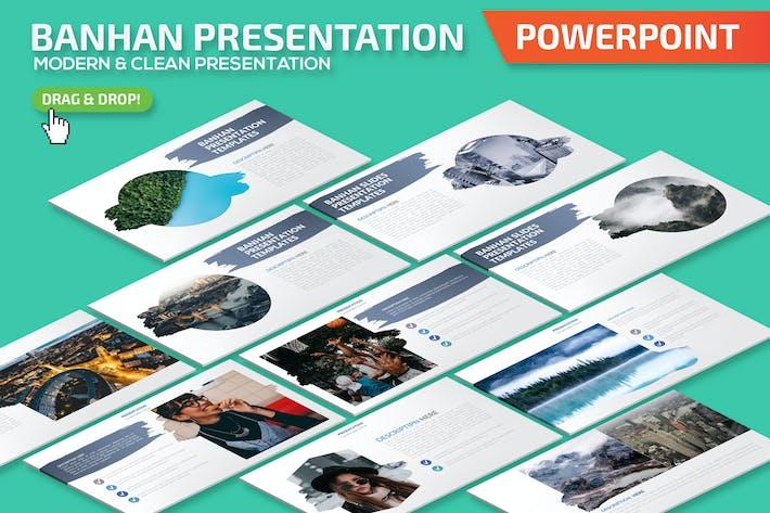 Презентация в Банхане Powerpoint