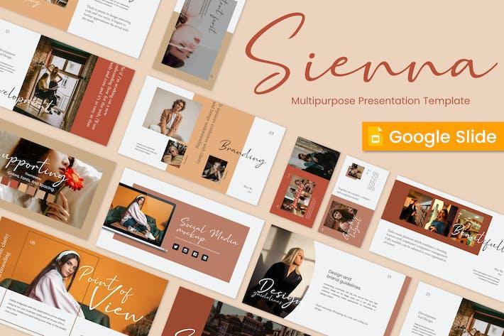 Thumbnail for Sienna Google Slide Template - JJ