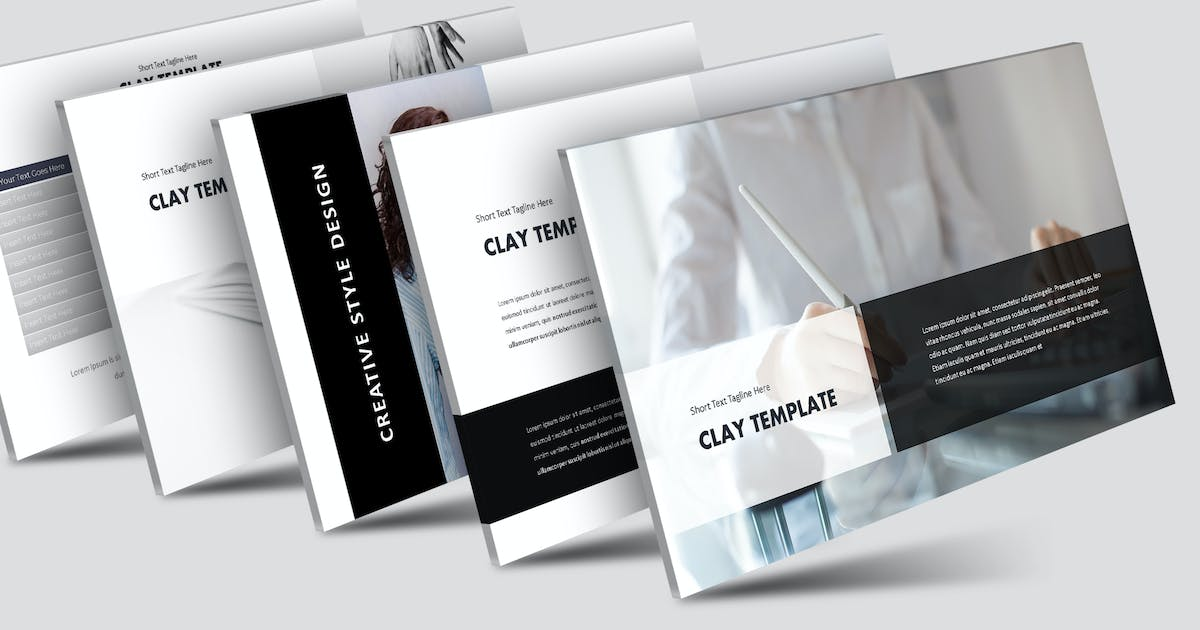 Download Clay - Keynote Template by aqrstudio
