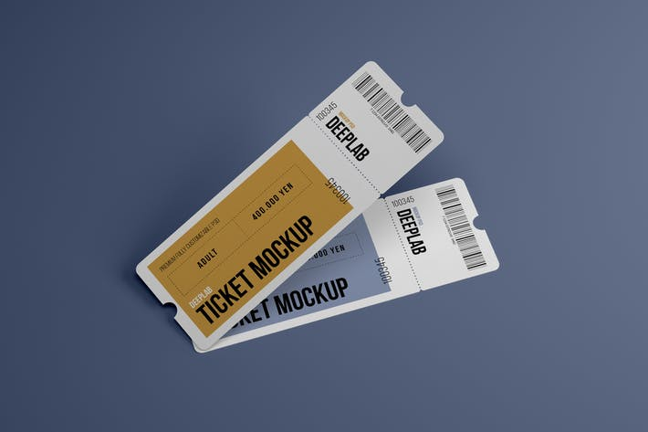 Thumbnail for Event Ticket Mockup