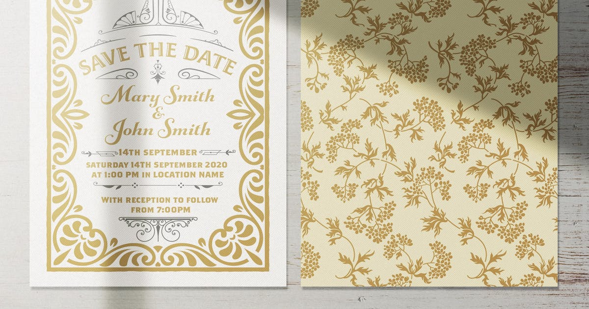 Download Wedding Invitation Layout by roverto007