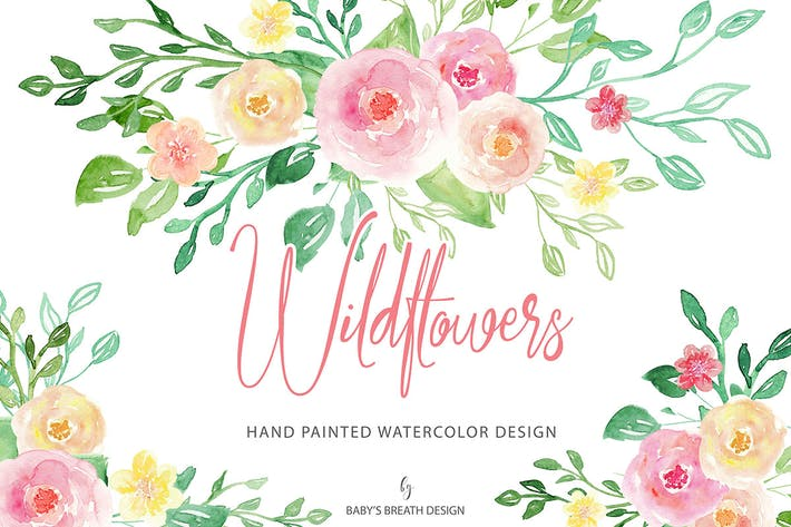 Cover Image For Wild flower design