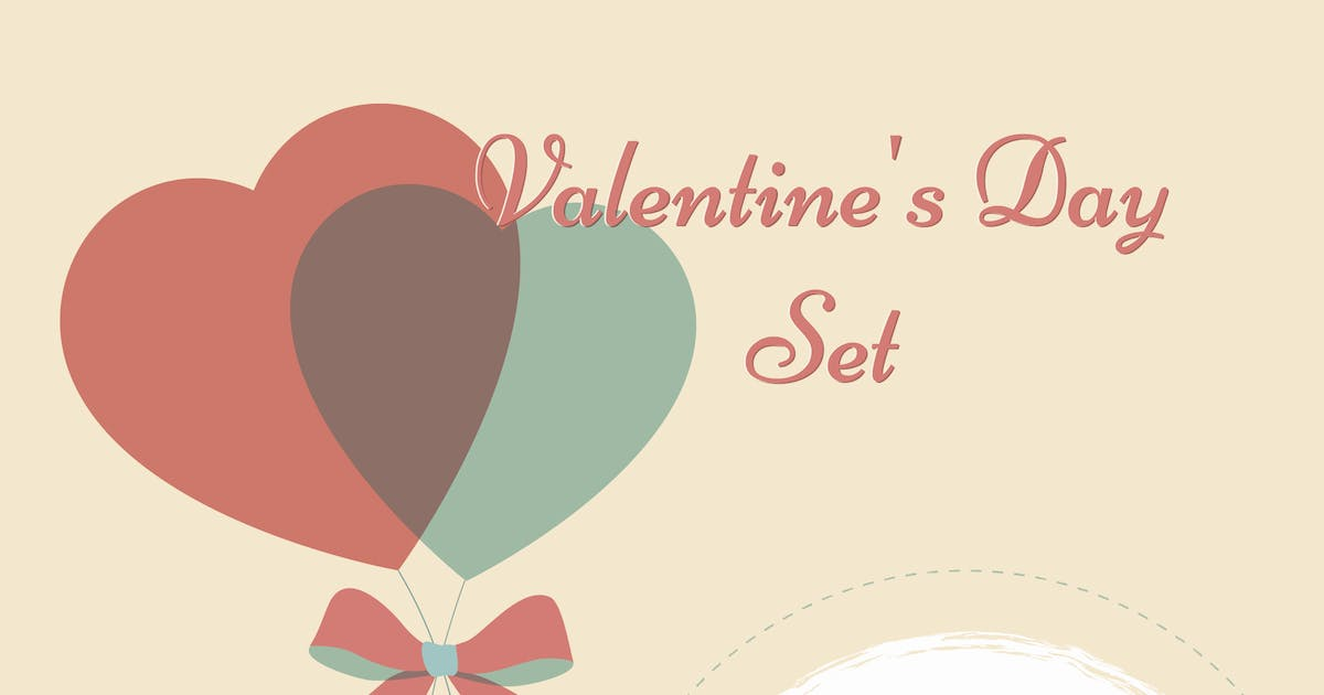 Download Valentine's Day Set: Icons & Cards by helga_helga