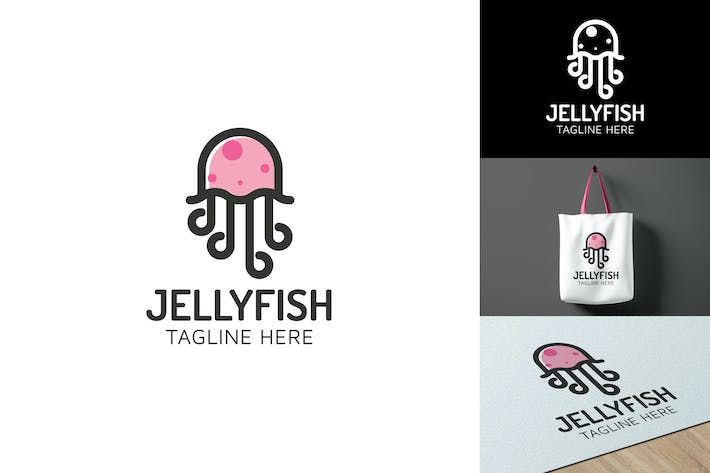 Thumbnail for Jellyfish - Logo Template RB