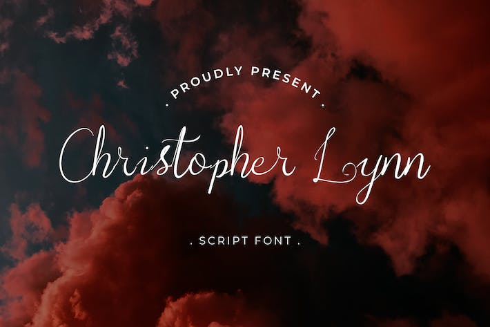 Thumbnail for Christopher Lynn Handwritten Script