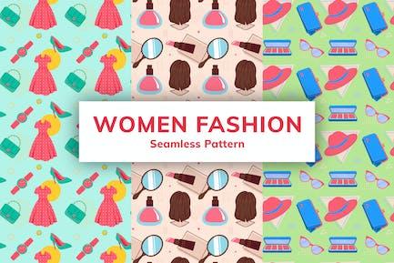 Women Fashion Seamless Pattern