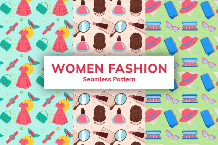 Women Fashion Seamless Pattern