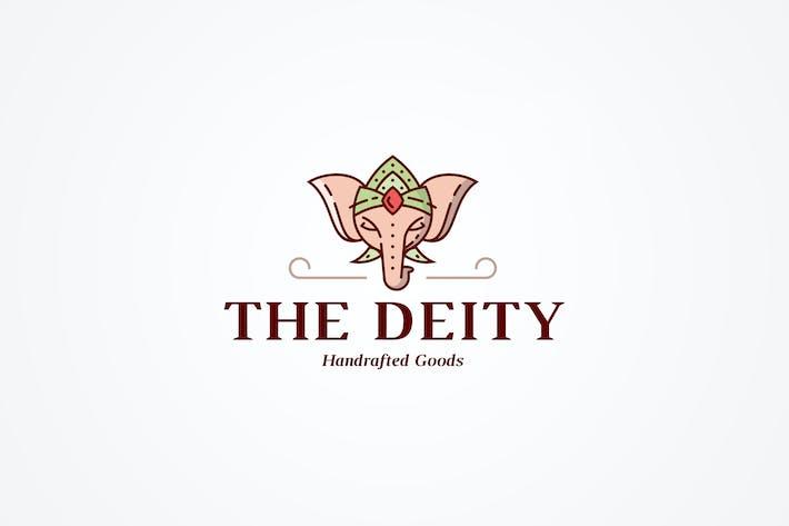 Thumbnail for Шаблон логотипа индийского слона