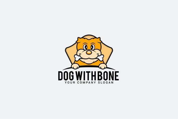 Thumbnail for dog with bone