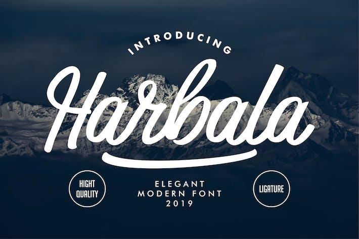 Thumbnail for Harbala | Elegant Modern Script Font