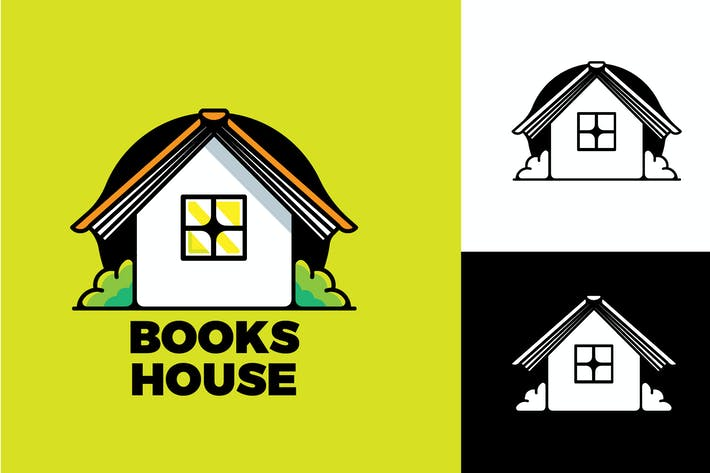 Thumbnail for BOOKS HOUSE - Mascot & Esport Logo
