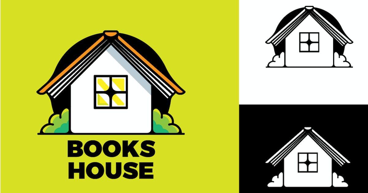 Download BOOKS HOUSE - Mascot & Esport Logo by aqrstudio