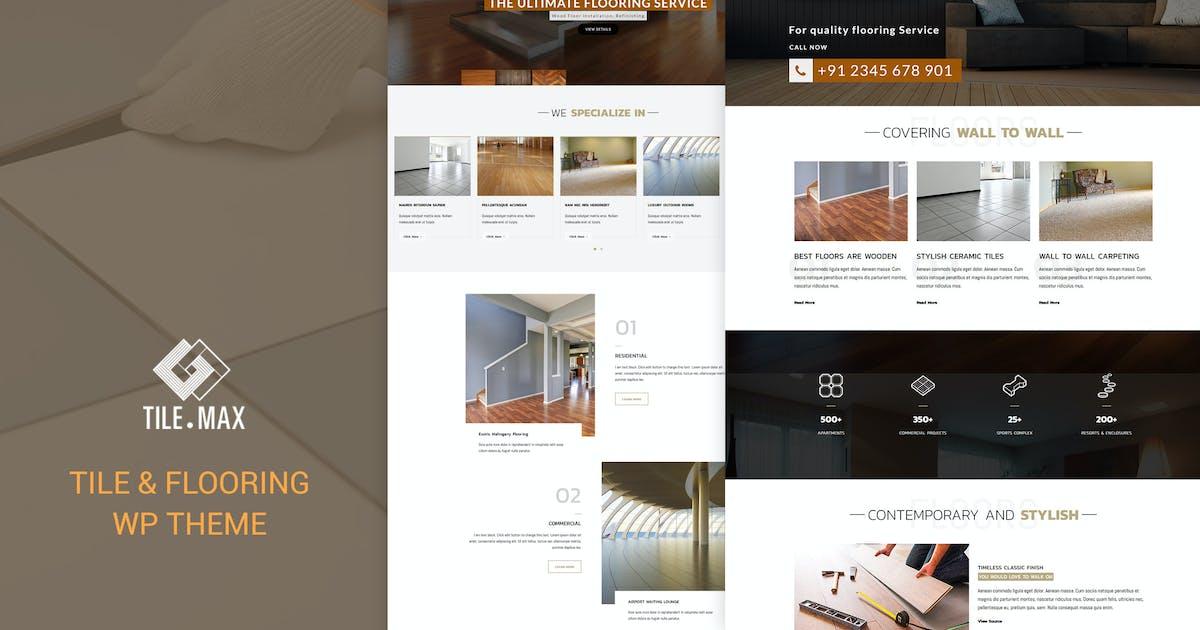 Download Tile Max - Tile & Flooring WP Theme by designthemes