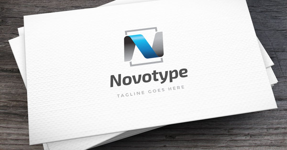 Download Novotype Letter N Logo Template by empativo
