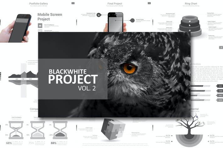Thumbnail for Black White Vol. 2 Keynote