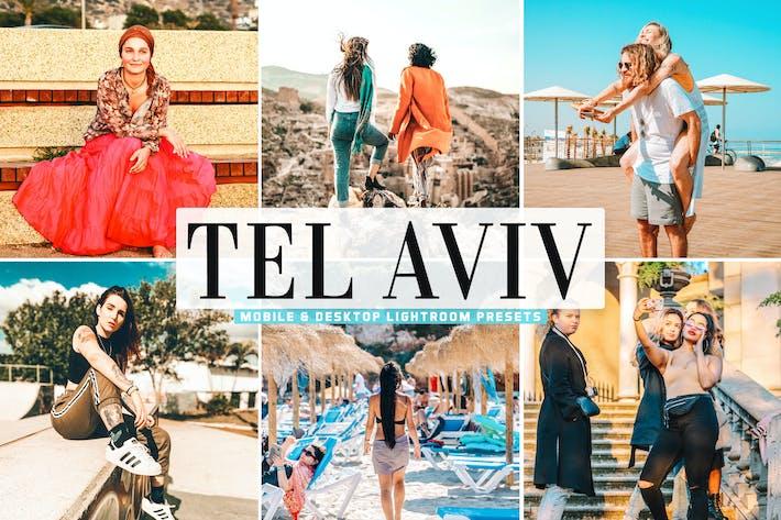 Thumbnail for Tel Aviv Mobile & Desktop Lightroom Presets