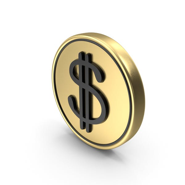 Dollar Coin Logo Icon