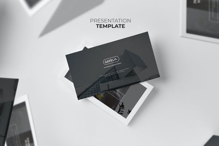Cover Image For Gavelis : Company Business Proposal Powerpoint