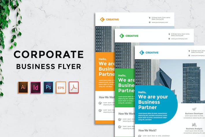 Thumbnail for Rantautemp - Business Corporate Flyer vol 2