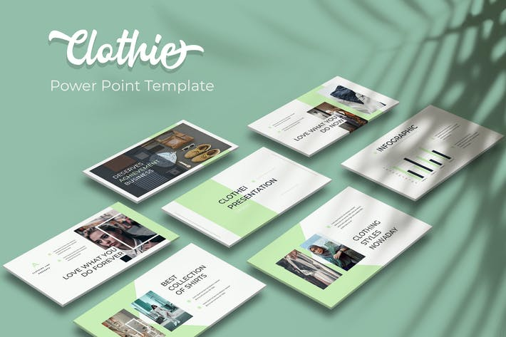 Thumbnail for Clothie - Powerpoint Template