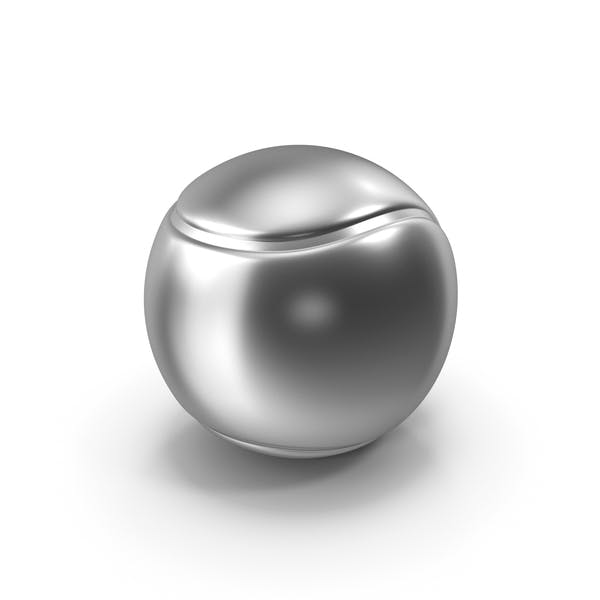 Tennis Ball Silver