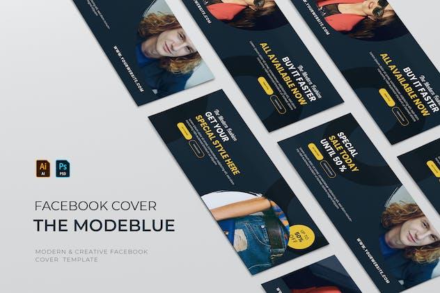 Modeblue Fashion | Facebook Cover