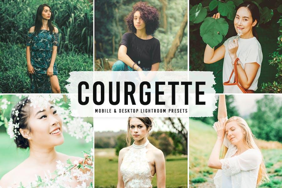 Courgette Mobile & Desktop Lightroom Presets