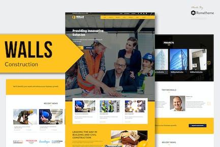 Paredes - Construction MUSE Plantilla RS