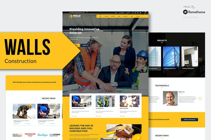 Thumbnail for Walls - Construction MUSE Template