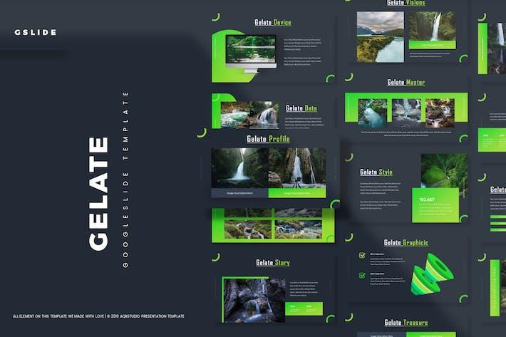 Thumbnail for Gelate - Google Slides Template