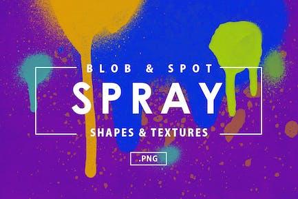 101 Blob & Spot Spray Shapes
