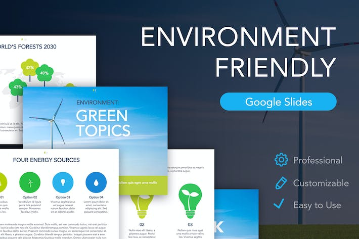 Thumbnail for Environment Friendly Google Slides