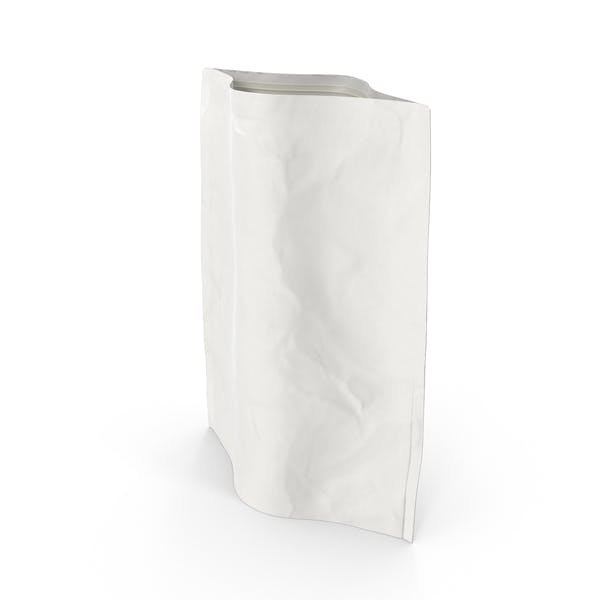 Thumbnail for Stand Up - Bolsa con cremallera (1000 g), color blanco