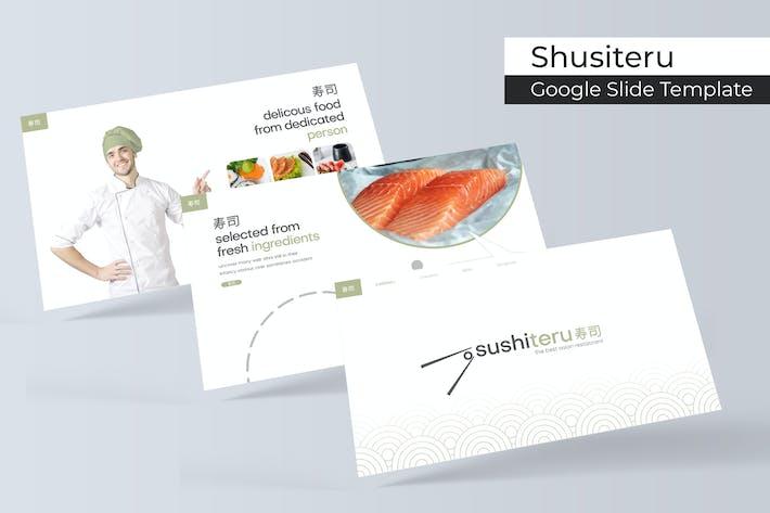 Thumbnail for Sushiteru - Google Slide Template