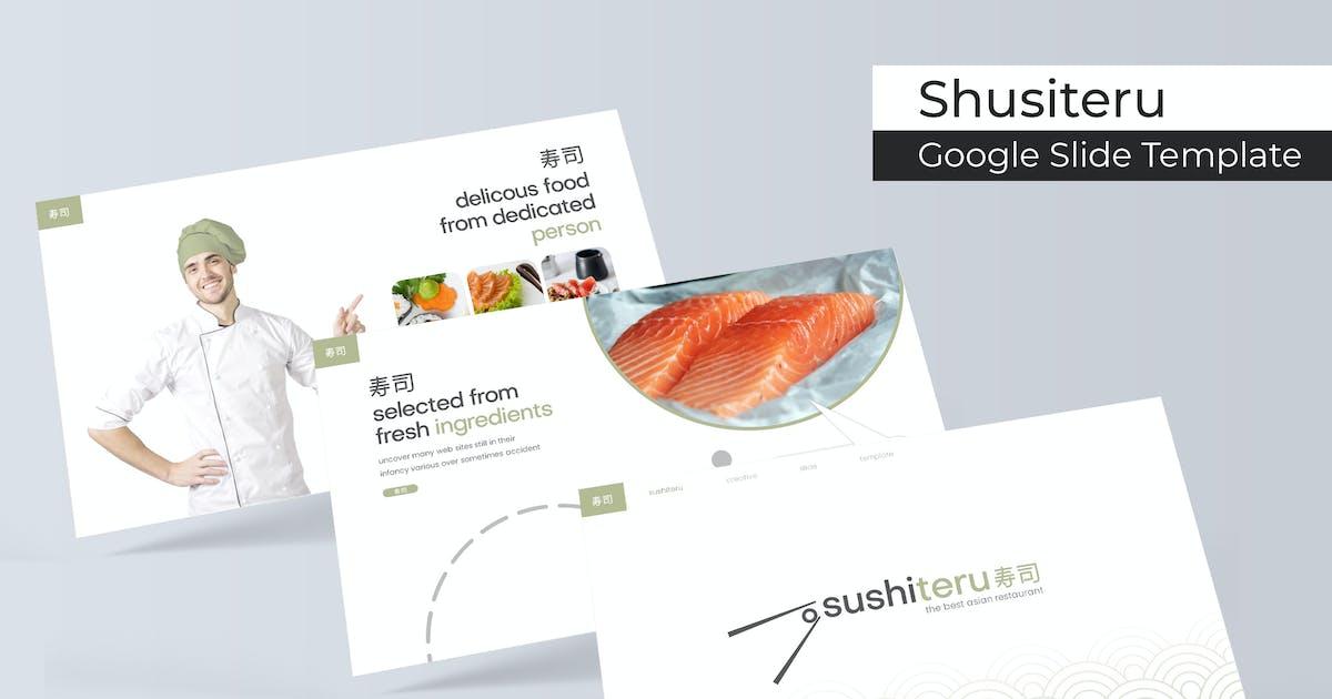 Download Sushiteru - Google Slide Template by IanMikraz