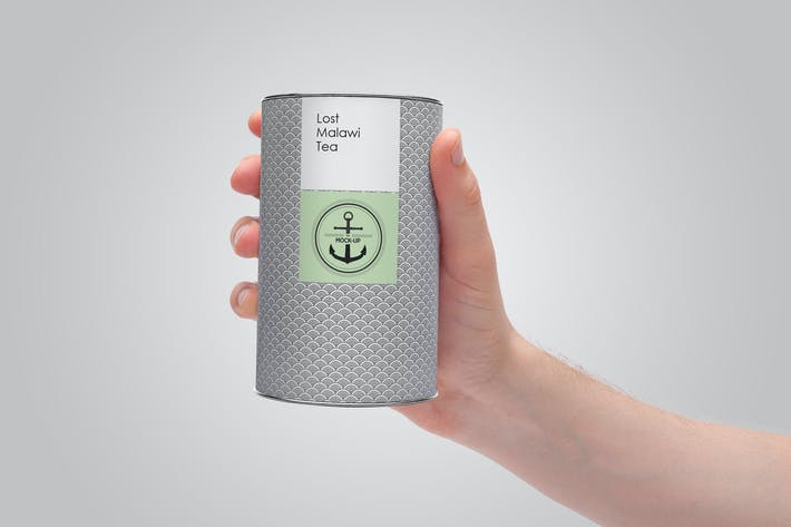 Thumbnail for Cardboard Tube Packaging MockUp