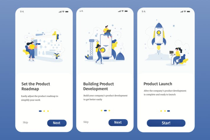 Thumbnail for Create Product Onboarding Illustration